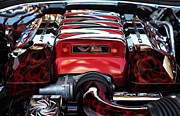 Sport Artist Photo Posters - V8 Poster by John Rizzuto