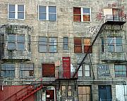 Tenements Prints - Vacancy Print by Robert Trauth