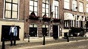 vadoot deeDoot strolling Amsterdam Print by Jayne Logan Intveld