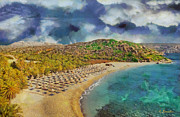 Hellas Prints - Vai beach II Print by George Rossidis