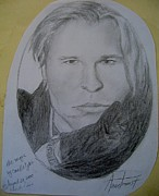 Hand Drawn Originals - Val Kilmer- Magic by Candlelight by Anne Provost