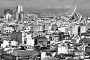 City Life Prints - Valencia City Print by Fotografiado por Lusansor