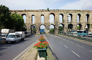 Byzantine Photos - Valens Aqueduct in Istanbul by Artur Bogacki