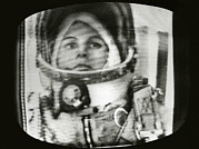 Disoriented Framed Prints - Valentina Tereshkova, Female Cosmonaut Framed Print by Ria Novosti