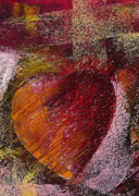 Soft Pastel Pastels - Valentine Heart by David Patterson