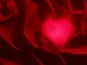 Valentine Heart Print by Tony Cordoza