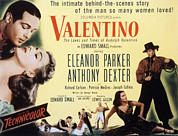 Dexter Framed Prints - Valentino, Anthony Dexter, Eleanor Framed Print by Everett