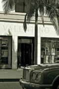Valentino Prints - Valentino on Rodeo Drive Print by Gwyn Newcombe