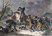 Bayonet Prints - Valley Forge: March, 1777 Print by Granger