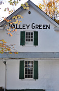 Valley Green Prints - Valley Green Inn - Side View Print by Bill Cannon
