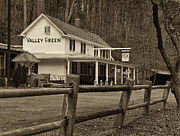 Inn Prints - Valley Green Print by Jack Paolini