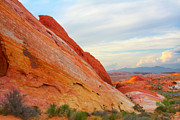 Valley Of Fire - A Pristine Beauty Print by Christine Till