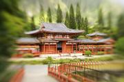Manicured Prints - Valley Of The Temples Print by Ron Dahlquist - Printscapes
