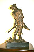 Soldier Sculptures - Vally Forge Winter by Alan Thompson