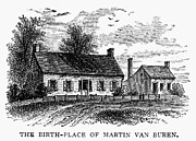 Birthplace Posters - Van Buren: Birthplace Poster by Granger