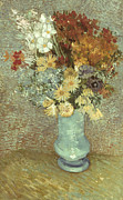 1887 Prints - Van Gogh: Flowers, 1887 Print by Granger