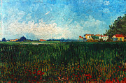 Van Gogh: Landscape, 1888 Print by Granger
