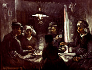 1885 Photos - Van Gogh: Meal, 1885 by Granger