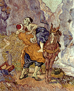 The Good Samaritan Prints - Van Gogh: Samaritan, 1890 Print by Granger