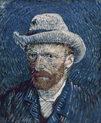 Self-portrait Photos - Van Gogh: Self-portrait by Granger