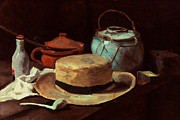 Interior Still Life Photo Metal Prints - Van Gogh: Still Life, 1885 Metal Print by Granger