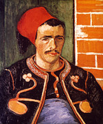 Fez Prints - Van Gogh: The Zouave, 1888 Print by Granger