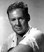 Johnson Photos - Van Johnson In Short Sleeve Shirt by Everett