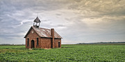 One Room Schoolhouse Prints - Van Wagener One Room Schoolhouse Print by Brian Mollenkopf