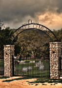 Mortality Framed Prints - Vance Cemetery Framed Print by Donna Van Vlack