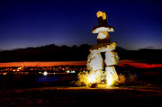 Inukshuk Art - Vancouver British Columbia 13 by Bob Christopher
