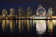 Telus Prints - Vancouver British Columbia 2 Print by Bob Christopher