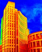 Vancouver Library 4 Print by Randall Weidner
