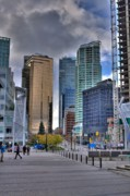 Vancouver Photos - Vancouver Office Towers by Larry Whiting