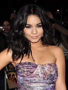 Pink Lipstick Framed Prints - Vanessa Hudgens At Arrivals For Beastly Framed Print by Everett