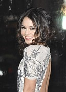 Tendrils Prints - Vanessa Hudgens At Arrivals For Sucker Print by Everett