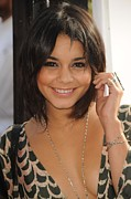 2010s Hairstyles Posters - Vanessa Hudgens At Arrivals For World Poster by Everett