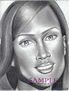 Brochures Drawings - Vanessa by Rick Hill