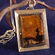 Sterling Silver Jewelry - VanGogh in Earthtones by Lynette Fast