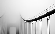 Amazing Prints - Vanishing Bridge Print by Matt Hanson