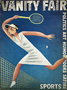Tennis Art - Vanity Fair, 1932 by Granger