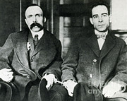 Nicola. Framed Prints - Vanzetti And Sacco Framed Print by Science Source