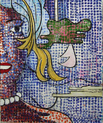 Seurat Originals - Variation on a Theme by Roy Lichtenstein by Richard Huntington