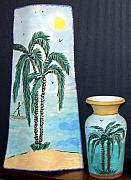 Beach Ceramics Posters - Varies Poster by A D