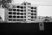 Gaszimagusa Prints - Varosha Forbidden Zone With Hotels Abandoned In 1974 Due To The Turkish Invasion Famagusta Print by Joe Fox
