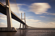 Da Prints - Vasco da Gama Bridge V Print by Nina Papiorek