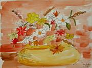 DENNY CASTO - Vase and Flowers