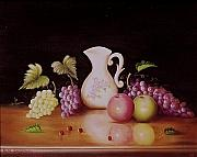 Gene Gregory - Vase and fruit