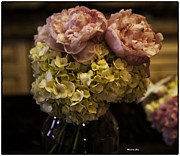 Floral Photos - Vase of Flowers by Madeline Ellis