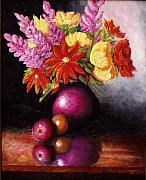 Gene Gregory - Vase with flowers