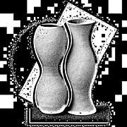 Vases Print by Mauro Celotti